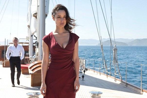 Berenice Marlohe;Daniel Craig