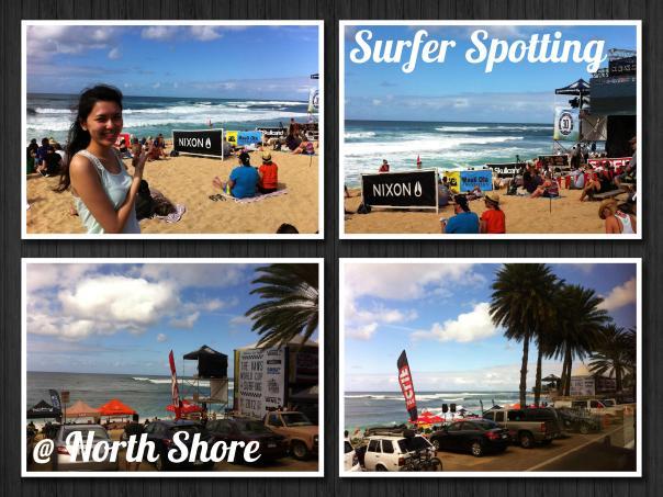 Surfing North Shore